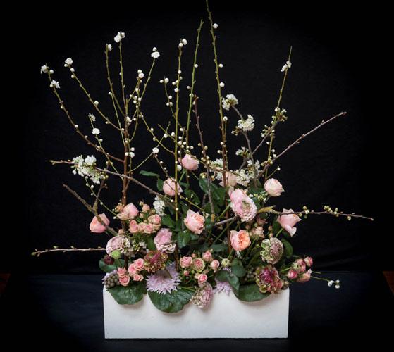 Fleuriste à Montélimar, création de bouquets de mariage, funérailles, décoration intérieure.